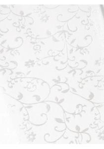 Westenset mit Ornamentmuster: Weste, Plastron, Tuch