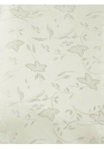 Weste mit floralem Muster im Set mit Plastron und Stecktuch Creme / Beige Ashford