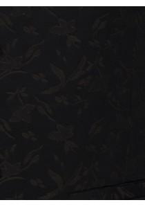 Weste mit floralem Muster im Set mit Plastron und