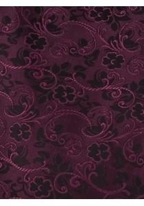 Hochzeitswesten-Set mit floralem Muster in