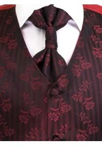Hochzeitsweste Set Rot Lorenzo Guerni Venedig