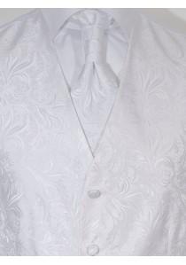 Westen Set Hochzeit Blumendesign Mailand Weiß