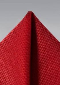 Stecktuch strukturiert rot