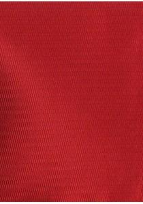 Set Schleife mit Herren-Einstecktuch Struktur rot
