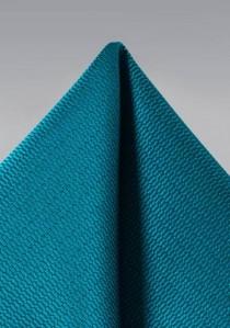 Einstecktuch Struktur blaugrün