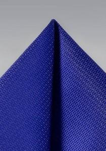 Ziertuch Struktur königsblau