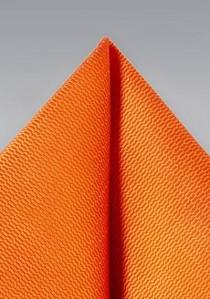 Kavaliertuch strukturiert orange