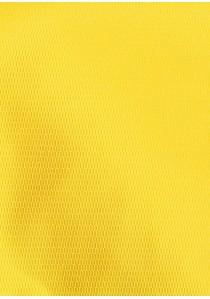 Herren-Schleife mit Stecktuch strukturiert goldgelb