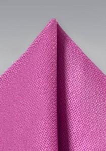 Einstecktuch Struktur magenta