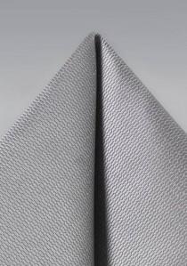 Kavaliertuch strukturiert silber