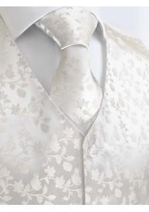 Elegantes Set mit Hochzeitsweste, Einstecktuch,