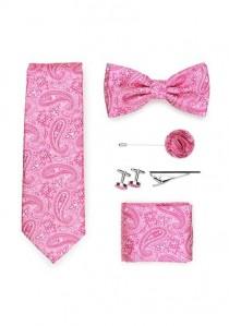 Geschenkbox Paisleymuster pinkfarben  mit