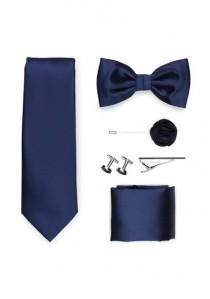 Geschenk-Set Krawatte Herrenschleife Tuch und mehr