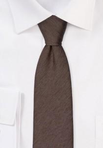 Krawatte monochrom melierte Oberfläche