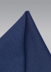 Einstecktuch melierte Oberfläche navyblau