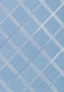 Krawattenklammer matt blau