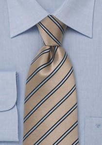 Krawattenspange mattiert Linien