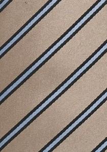 Krawattenspange silbern gestreift
