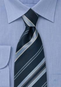 Extra schmale Krawatte silbergrau