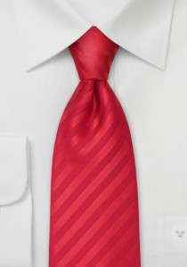 Elegante Krawatte platin/silbergrau Streifen