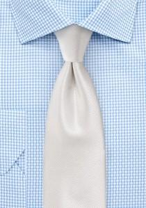 Krawatte strukturiert uni altweiß