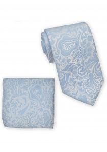 Kombination Krawatte und Ziertuch Paisleymuster