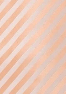 Krawatte elegantes Paisleymotiv silber
