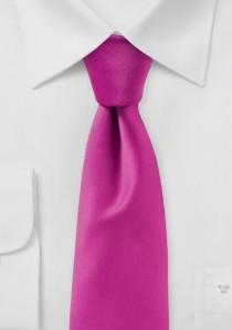 Auffallende Businesskrawatte einfarbig zartviolett