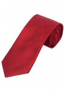 Krawatte schmal geformt einfarbig