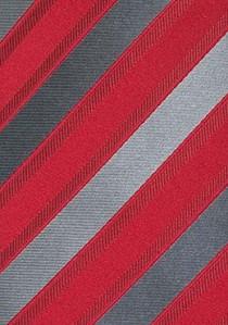 Krawatte klassisches Punkt-Dessin schneeweiß