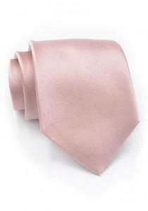 Elegante Krawatte in edlem rosé