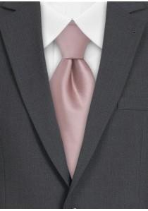 Elegante Krawatte in altrosa