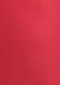 Moulins Krawatte leuchtend rot einfarbig