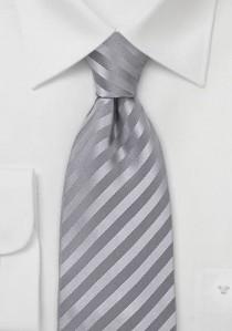 Krawatte einfarbig Streifen