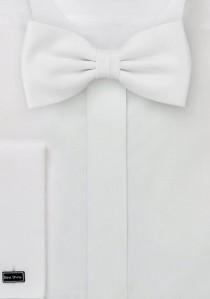 Fliege in weiß