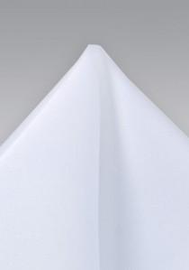 Einstecktuch in strahlendem Weiß