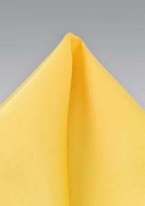 Einstecktuch in strahlendem Gelb