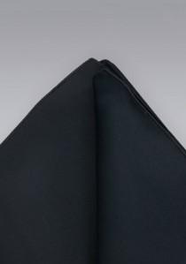Einstecktuch schwarz