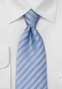Krawatte Kästchen-Dessin hellgrau schneeweiß