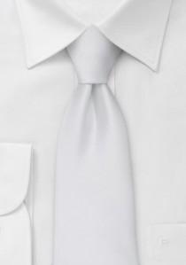 Moulins Mikrofaser Krawatte weiß
