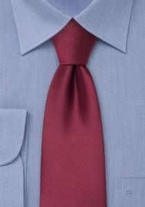 Moulins Mikrofaser Krawatte in bordeaux