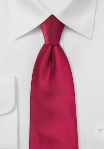 Moulins Mikrofaser Krawatte Red-Pepper