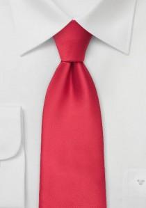 Moulins Mikrofaser Krawatte in hellem rot