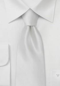 Weiße Krawatte