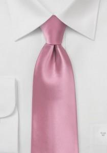 Moulins Mikrofaser Krawatte in rosé