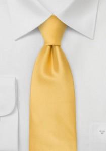 Moulins Mikrofaser Krawatte in hellgelb