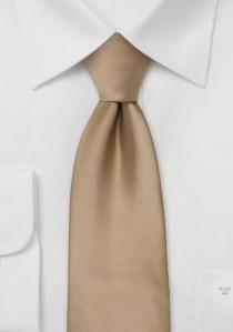Moulins Mikrofaser Krawatte in braun