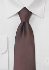 Moulins Mikrofaser Krawatte in mocca