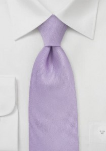 Krawatte strukturiert zartviolett