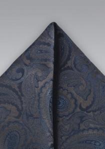 Kavaliertuch Paisley-Muster italienische Seide